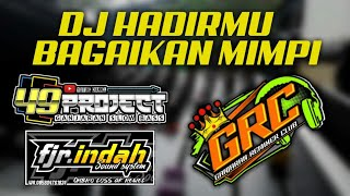 Download lagu TERBARU DJ HADIRMU BAGAIKAN MIMPI JINGLE FJR INDAH.....