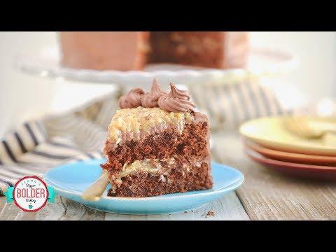 Rich German Chocolate Cake Recipe | Gemma's Bigger Bolder Baking