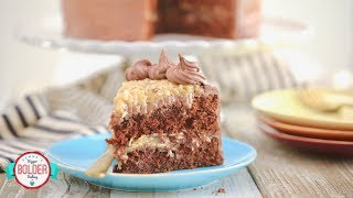 Rich German Chocolate Cake Recipe | Gemma's Bigger Bolder Baking