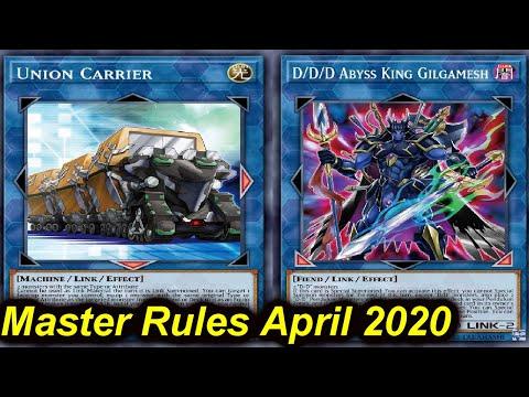 【YGOPRO】D/D/D POST MASTER RULES APRIL 2020