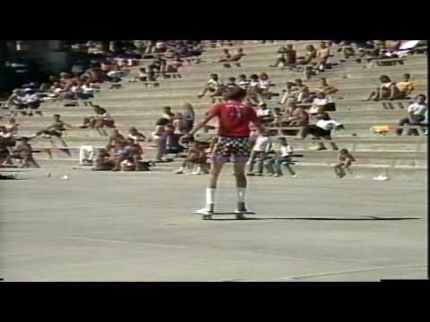 Kevin Harris - Freestyle Contest Oceanside 1985