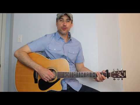 Drowns The Whiskey - Jason Aldean - Guitar Lesson | Tutorial