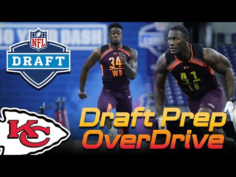 Chiefs Draft Prep OverDrive - Ford Tag, Combine Q&A | Kansas City Chiefs 2019 NFL Draft