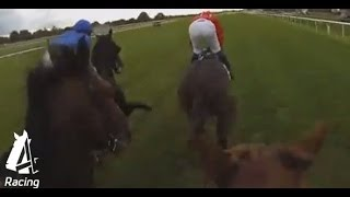 Helmet Cam | Hughesie wins on Night Of Thunder | Channel 4 Racing