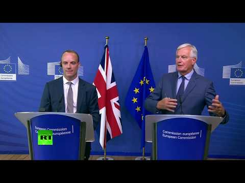 LIVE: Dominic Raab and Michel Barnier hold a joint press conference