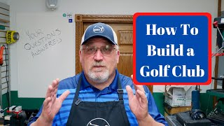 How to build a g๐lf club