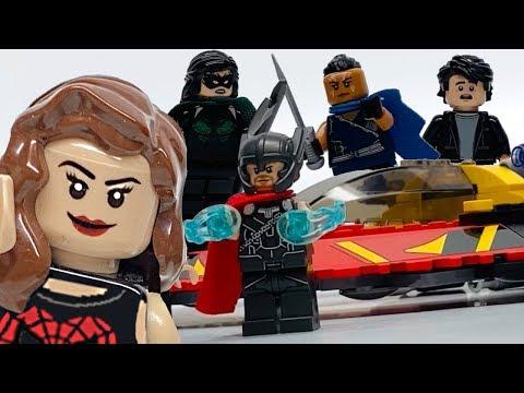 LEGO Thor Ragnarok Battle for Asgard - Minifigure FILLED review!