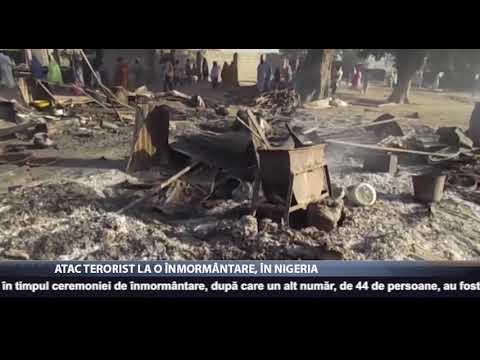 Atac terorist la o înmormântare, în Nigeria