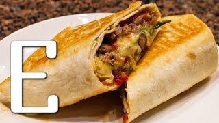видео Рецепты с мексиканской лепешкой