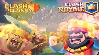 Clash Royale Rush 5000🏆& Clash Of Clans Rush 3800(Champion 1)