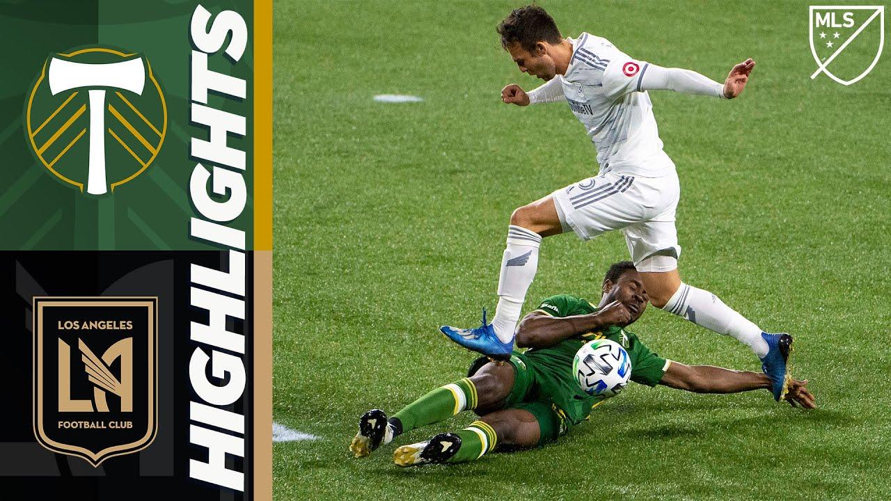 Portland Timbers vs. Los Angeles Football Club   October 18, 2020   MLS Highlights