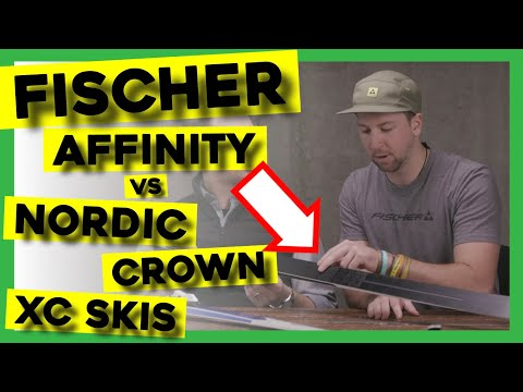 2020 FISCHER AFFINITY Vs NORDIC CROWN XC SKIS!!!