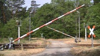 Spoorwegovergang Bagenz (D) // Railroad crossing // Bahnübergang