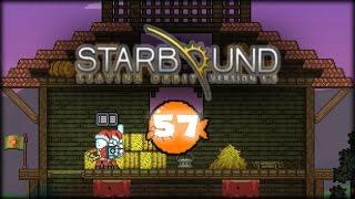 Starbound 1.2 - Строим ферму-амбар для животных [#57]