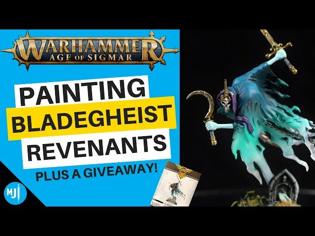 How To Paint Bladegheist For Nighthaunts