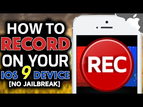 How To RECORD your iOS 9 Device! 9.1 & Below (NO JAILBREAK) iPhone iPad iPod Touch