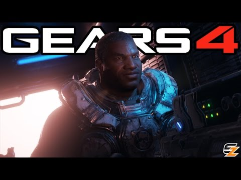 Gears of War 4 - Cole Train Rap Thrashball Campaign Easter Egg! (Gears of War 4 Easter Eggs)