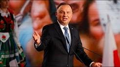 Stichwahl in Polen: Duda bei Präsidentschaftswahl ohne absolute Mehrheit