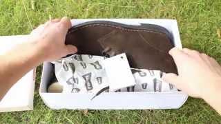 Clarks Brown Suede Desert Boots