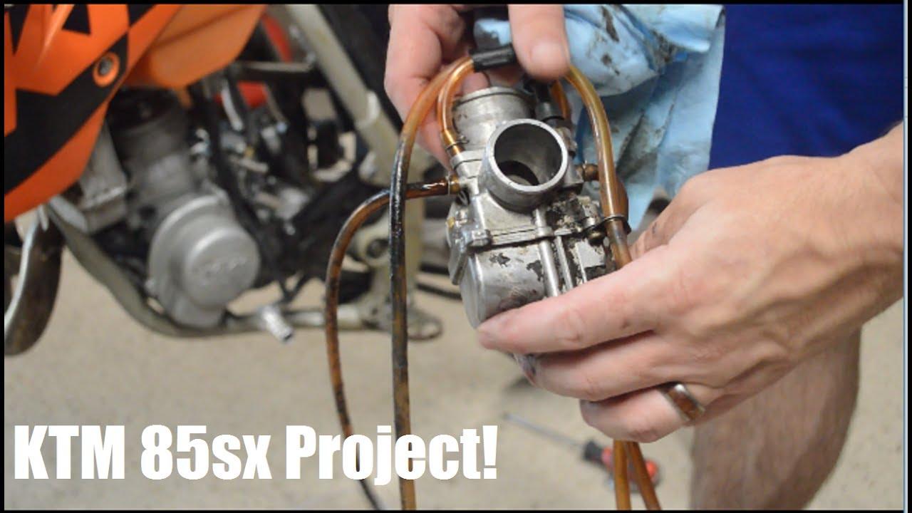 Dirt Bike Project 2004 Ktm 85sx Part 2 Carb Cleaning