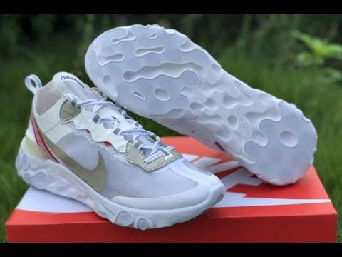 47320b00f8bf Best UA Undercover X Nike Upcoming React Element 87 White HD Review   yeezykickss.net