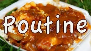 Eating Poutine In Montreal Quebec Canada