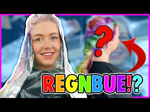 Farger Håret i REGNBUE!!
