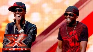 Menn on Poinnt Turn It Up for our Judges | The X Factor UK 2015 Mp3