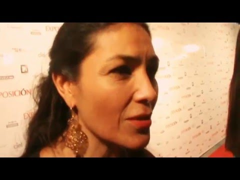 DOLORES HEREDIA  - ENTREVISTA ALFOMBRA EXPOSICION