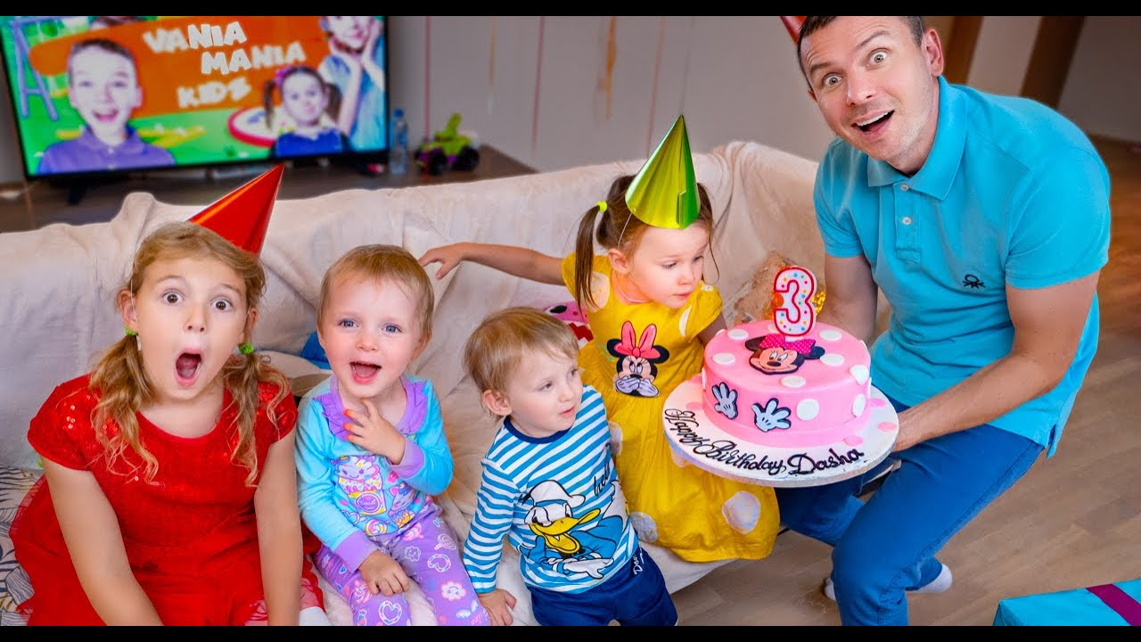 Five Kids Night before Birthday + more Children's Songs and Videos