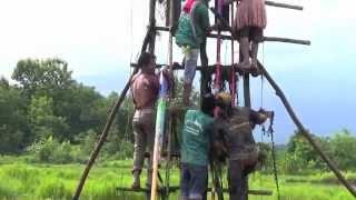 Laos Paksan rocket festival 2012 -  BIG ...