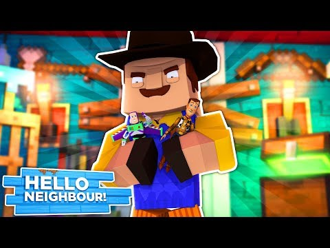 Minecraft - HELLO NEIGHBOUR HAS TAKEN ALL THE TOYS!