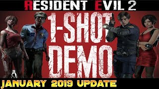 Re2 Remake : Demo Release Date & Information  January Update 2019  4k