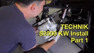 How to lower a Honda S2000 1 of 2 - Technik