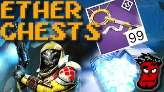 Destiny House of Wolves: Ether Chest Glitch! Engram + Prison of Elders Keys Farming! Gameplay German