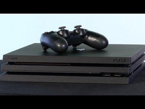 PS4 Pro im Unboxing und Größenvergleich