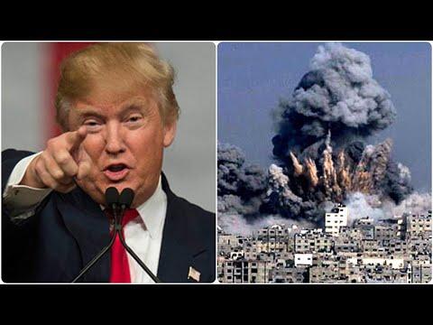 Primeras imágenes, Estados Unidos ataca a Siria // United States attacks Syria // 2018