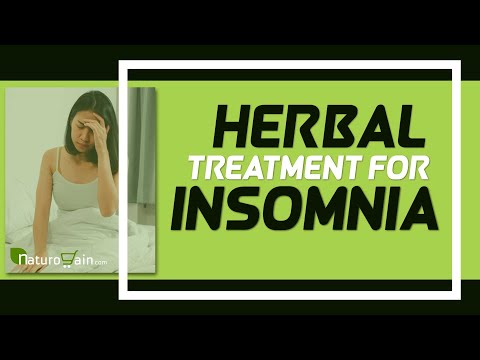 Herbal Treatment for Insomnia to Fix Restless Sleep And Anxiety Symptoms