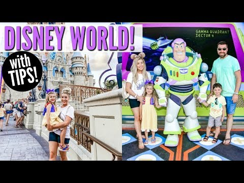 DISNEY VACATION VLOG WITH TIPS FOR DISNEY WORLD 2019 | Disney World in 72 hours! HickmanVlogs