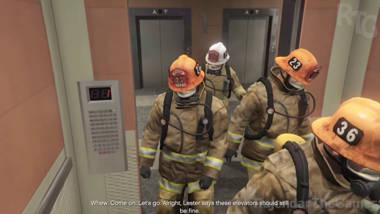 Gta 5 mission 65 plan a fire crew the bureau raid for Bureau raid crew