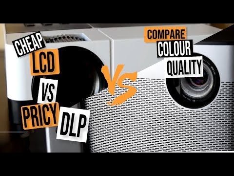 XGIMI H1 VS A CHEAP LCD PROJECTOR: COMPARE COLOUR QUALITIES