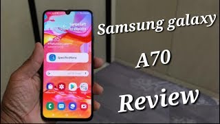 Samsung galaxy A70 |Samsung galaxy A70 Review in hindi