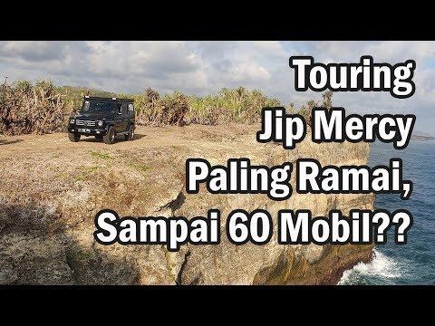 Hauwke Vlog 02: Touring Jip Mercy Paling Ramai, Sampai 60 Mobil?? - MJI Batik Touring 2019