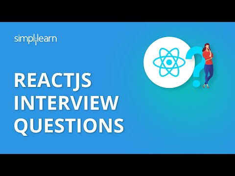 React Interview Questions and Answers | React Interview Questions | ReactJS Tutorial | Simplilearn thumbnail