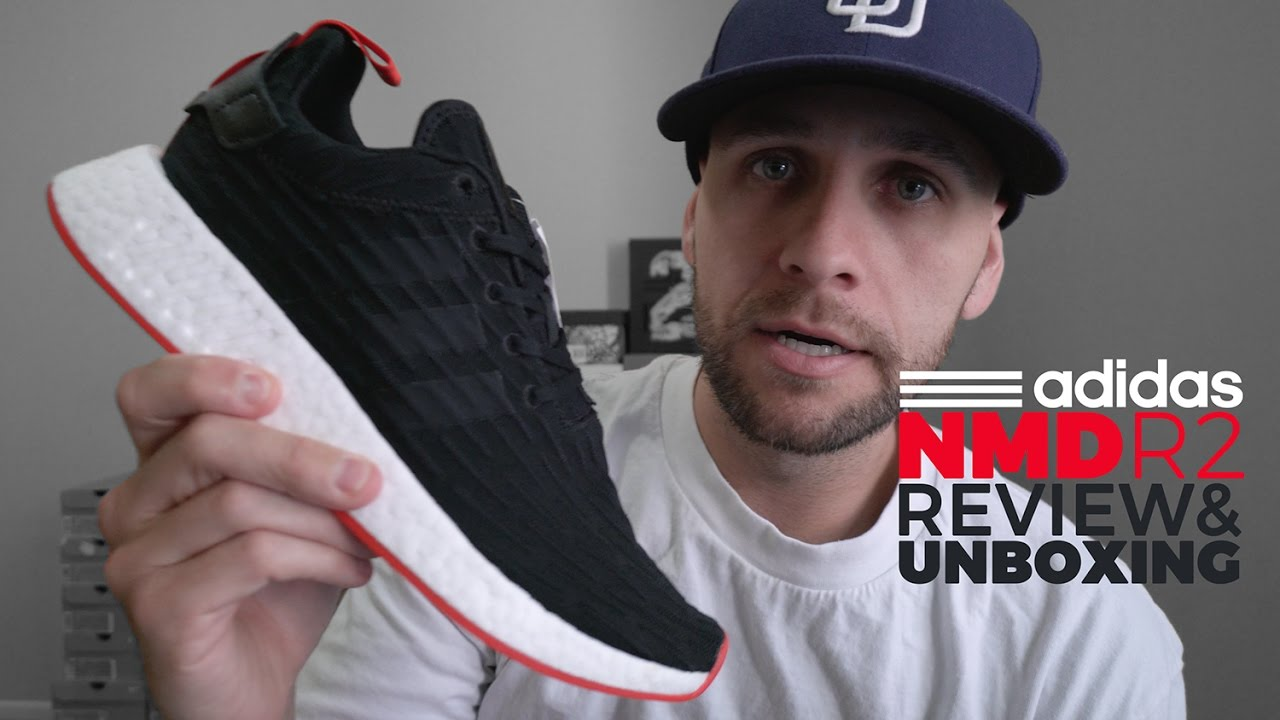 ADIDAS NMD R2 PK UNBOXING   REVIEW 558dbf940111