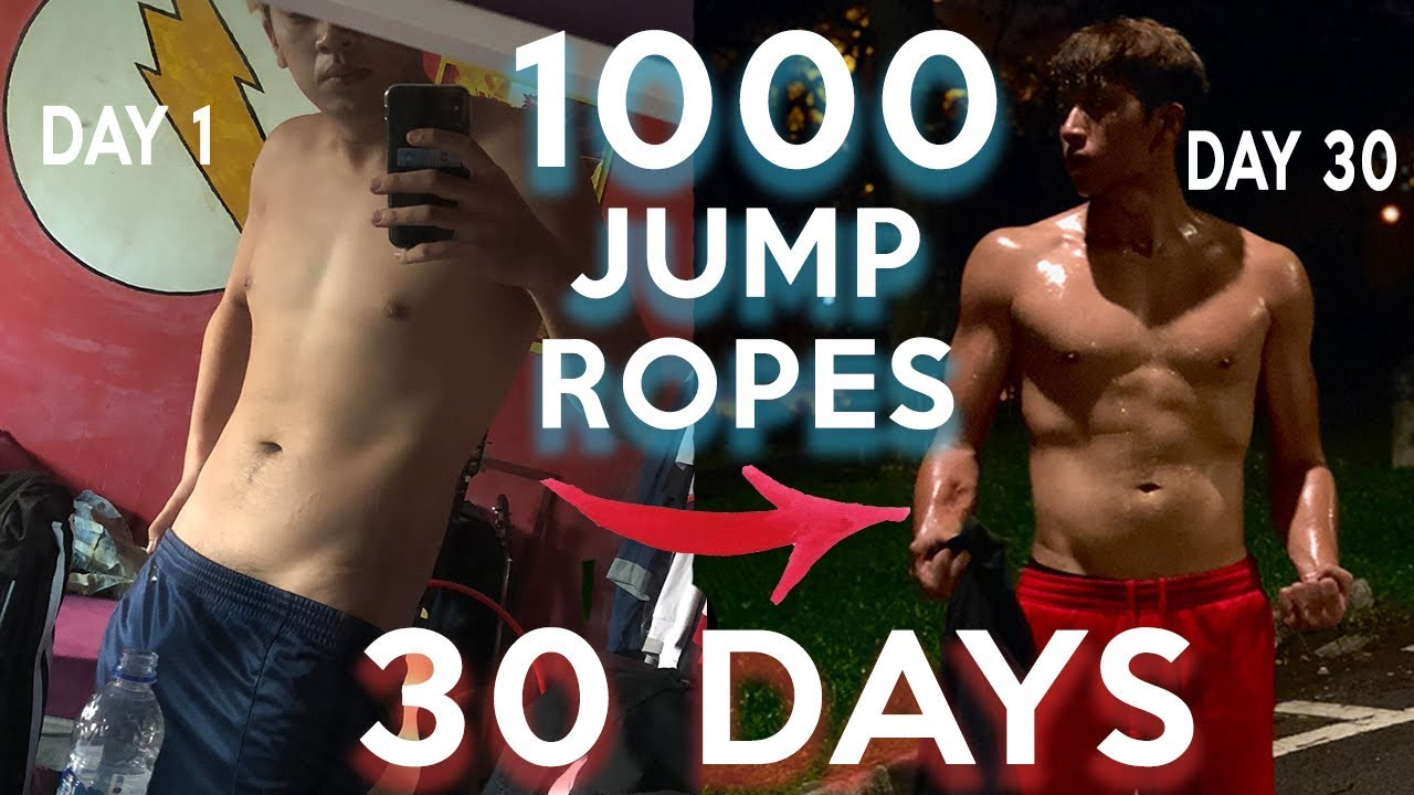 Health Fit This Guy Did 1 000 Jump Rope Skips A Day For A Whole Month Pressfrom Us