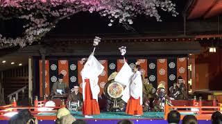 桜歌会 雅楽 富士山浅間神社 2018年