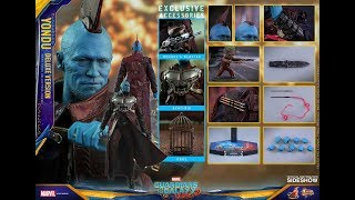HOT TOYS - YONDU - MMS 436 - DELUXE VERSION - GOTG2 - REVIEW FRANCAISE FRENCH