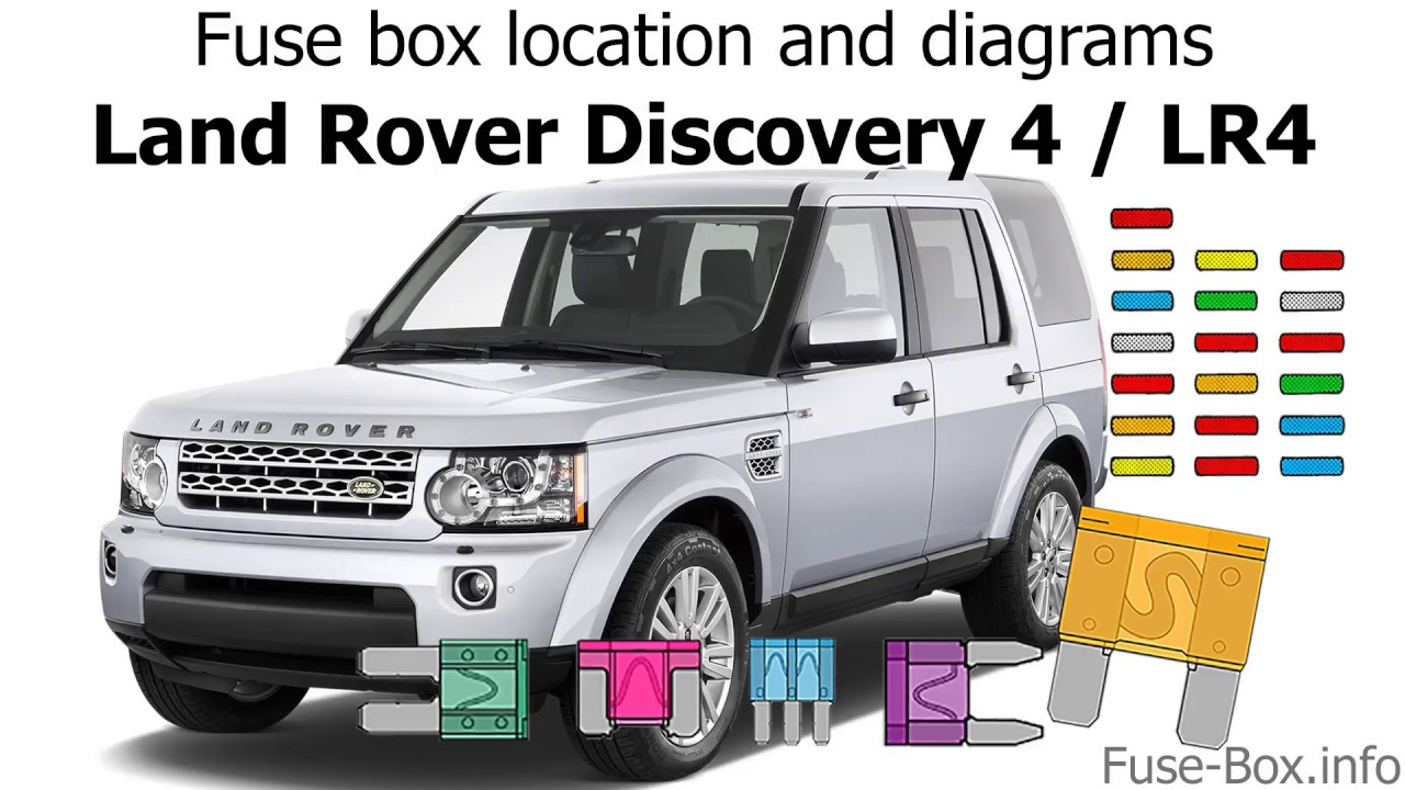 Fuse box location and diagrams  Land    Rover       Discovery    4