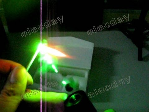 200mw Laser Pointer Pen With Star Cap 18650 Rechargeable